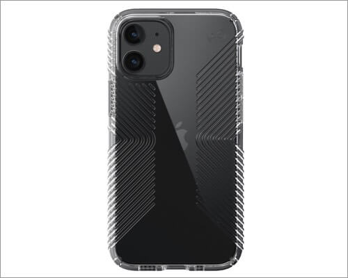 Speck Presidio Perfect-Clear Case for iPhone 12 Mini