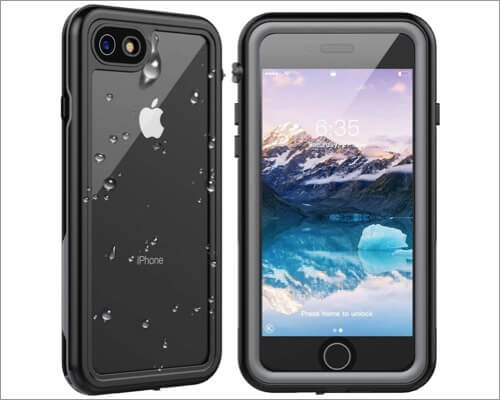 spidercase waterproof rugged case for iphone se 2020