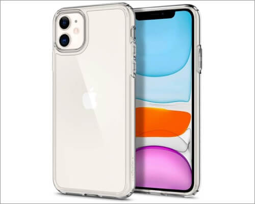spigen clear case for apple iphone 11