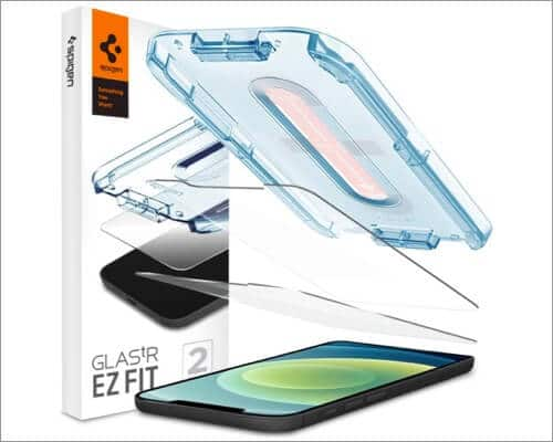 Spigen Tempered Glass Screen Protector for iPhone 12 Mini