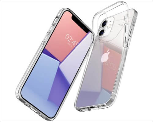 Spigen Liquid Crystal Clear Case for iPhone 12 Mini