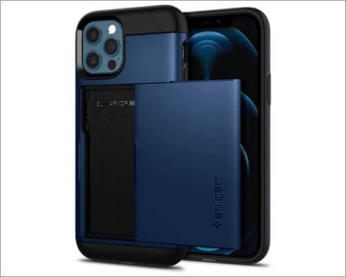 Spigen Slim Armor CS Wallet Case for iPhone 12 and 12 Pro