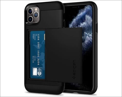 spigen slim wallet case for iphone 11 pro