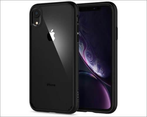 spigen ultra hybrid bumper case for iphone xr