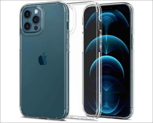 Spigen Ultra Hybrid Clear Bumper Cover for iPhone 12 Pro Max