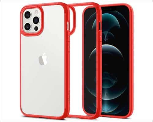 Spigen Ultra Hybrid Designed Clear Case for iPhone 12 Pro Max