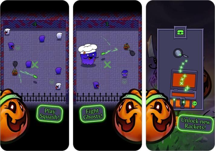 Spooky Squashers iPhone and iPad Halloween Game Screenshot