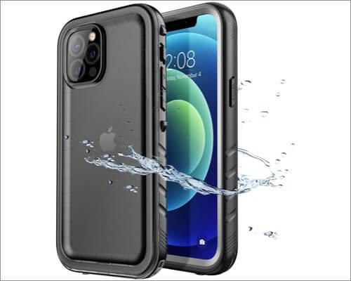 SPORTLINK Waterproof Case for iPhone 12 Pro Max