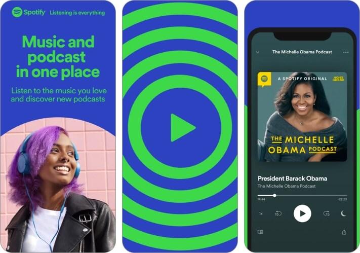 Spotify iPhone and iPad Entertainment App Screenshot