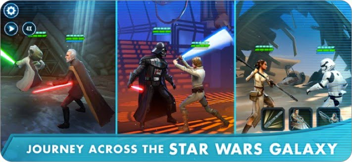 star wars galaxy of heroes multiplayer role playing iphone and ipad game screenshot