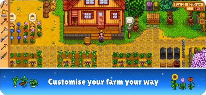 stardew valley iphone game screenshot