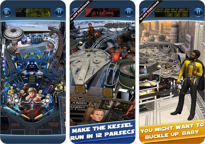 starwars pinball 7 iphone and ipad game screenshot
