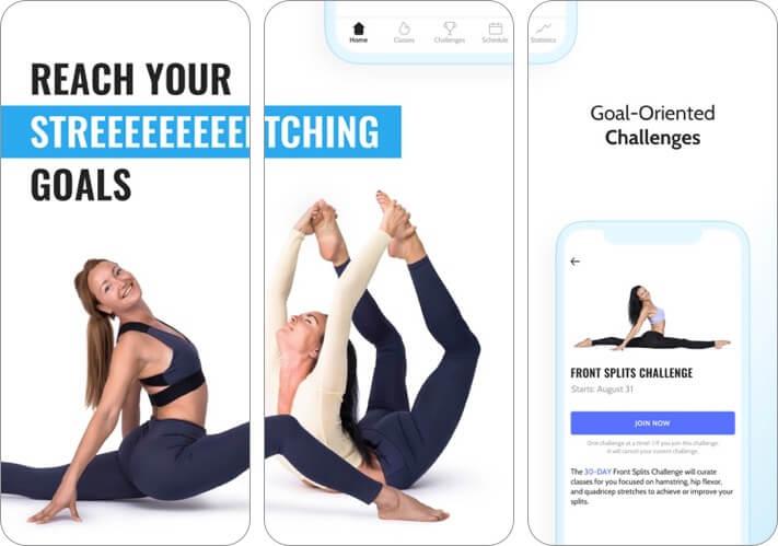 stretchit iphone and ipad app screenshot