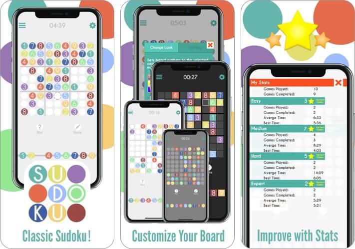 Sudoku by Banana & Co iPhone and iPad Game Screenshot