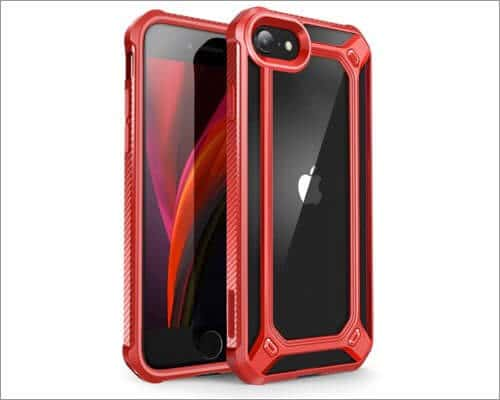 supcase clear bumper case for iphone se 2020