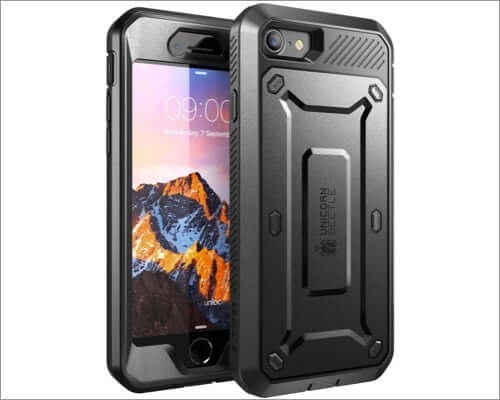 supcase rugged belt clip case for iphone se 2020