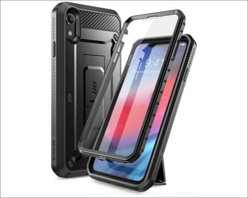 supcase unicorn bettle belt clip case for iphone xr