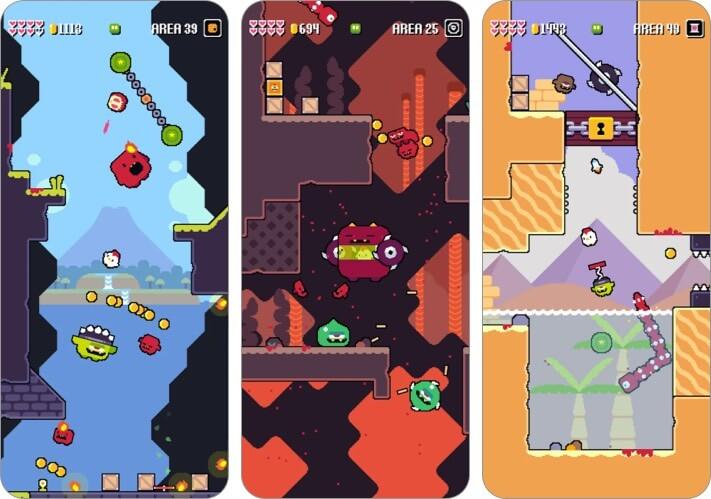 super fowlst 2 iphone and ipad game screenshot