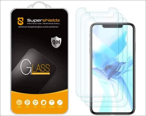SuperShieldz Tempered Glass Screen Protector for iPhone 12 Pro Max