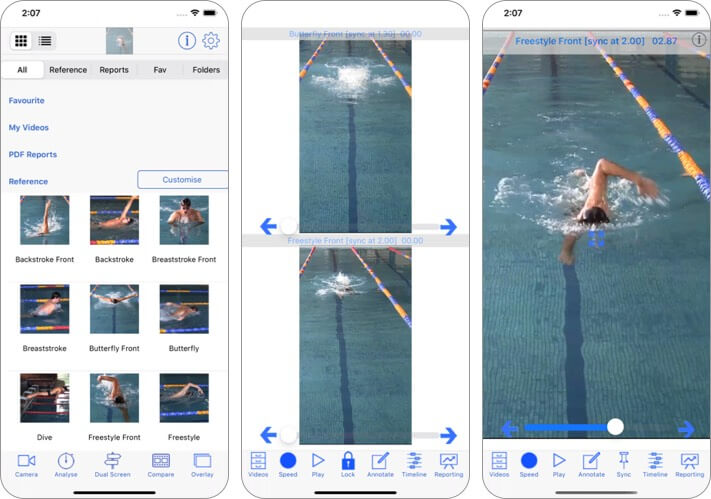 Swim Coach Plus HD iPhone and iPad