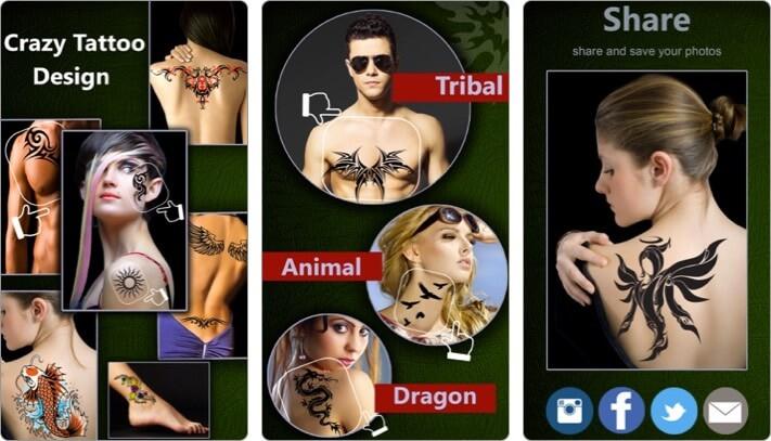tattoo yourself iphone and ipad-app