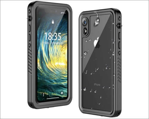 temdan iphone xr waterproof case