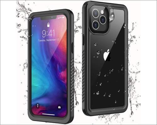 Temdan Waterproof Case for iPhone 12 Pro Max