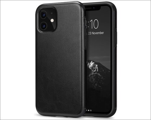 tendlin premium leather case for iphone 11