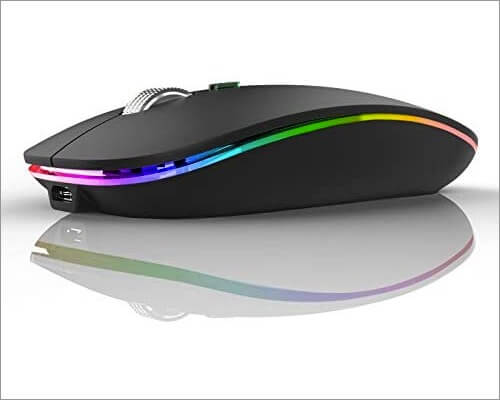 TENMOS Wireless Bluetooth Mouse for Mac