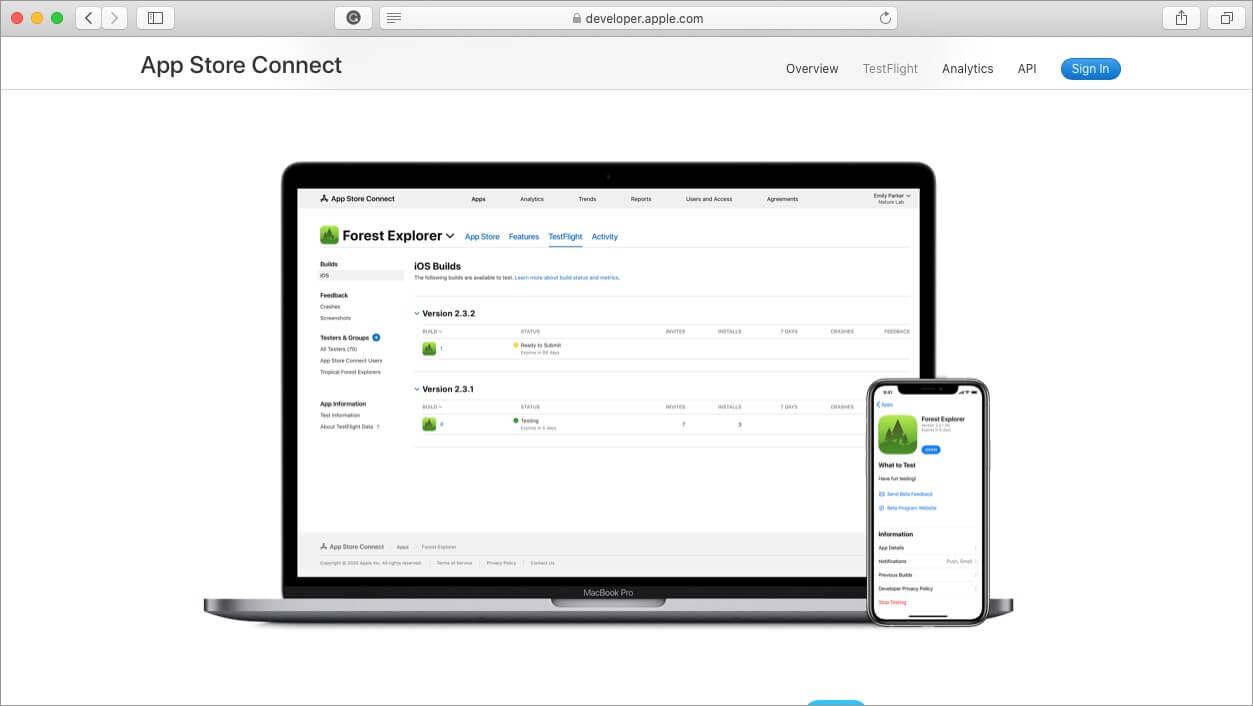 testflight ios emulator for mac and windows pc