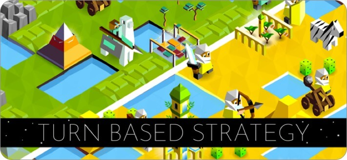 the battle of polytopia iphone and ipad offline game screenshot