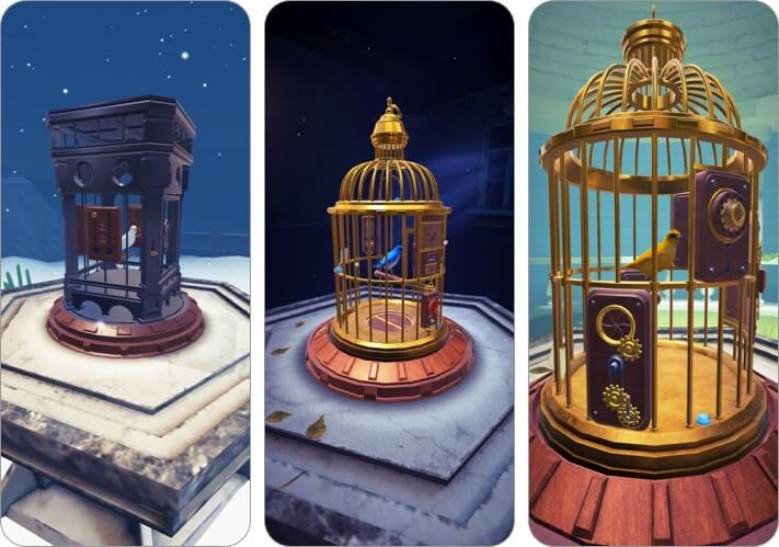 The Birdcage iPhone and iPad puzzle game