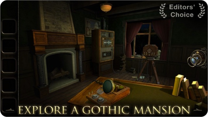 the room three iphone and ipad puzzle game screenshot