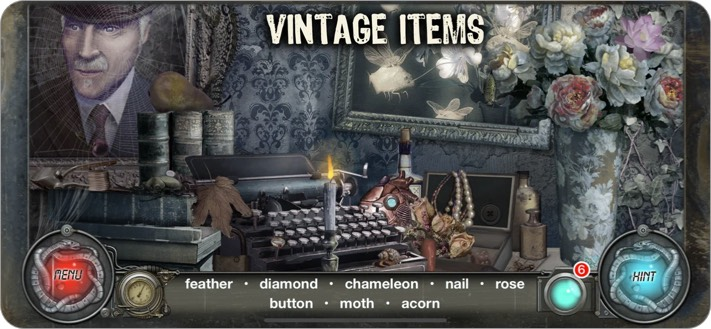 Time Trap iPhone and iPad Detective Game Screenshot