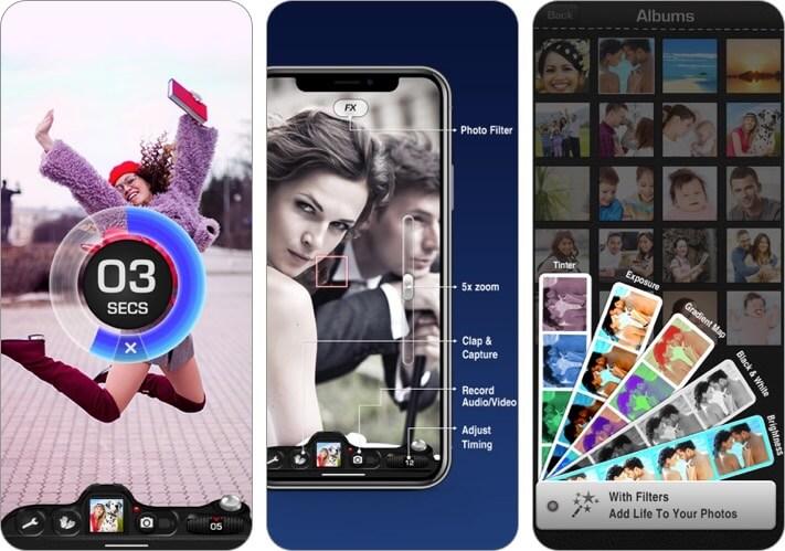 timer auto camera iphone app screenshot