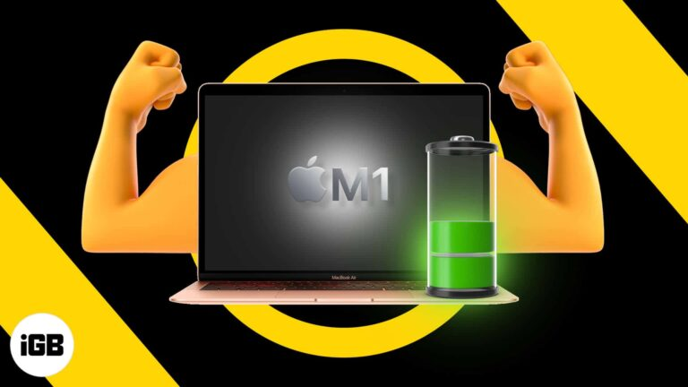 9 Best tips to improve M1 MacBook battery life - iGeeksBlog