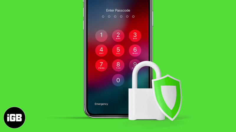 tips to secure iphone and ipad lock screen