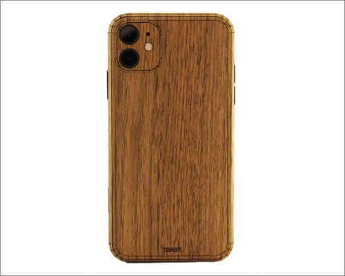 toast wooden case for iphone 11