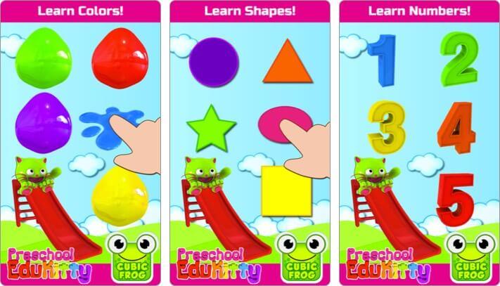 toddler learning iphone game screenshot