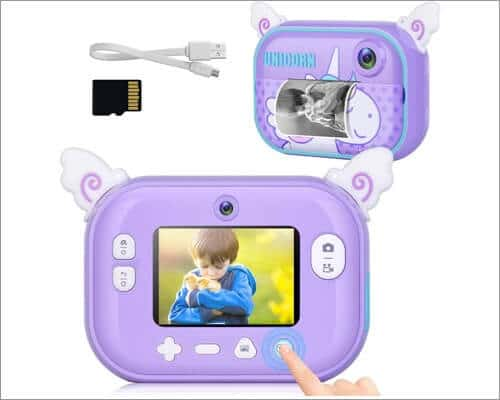 Tohssik Instant Camera for Kids