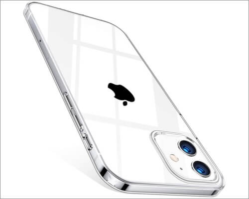 TORRAS Crystal Clear Case for iPhone 12 Mini