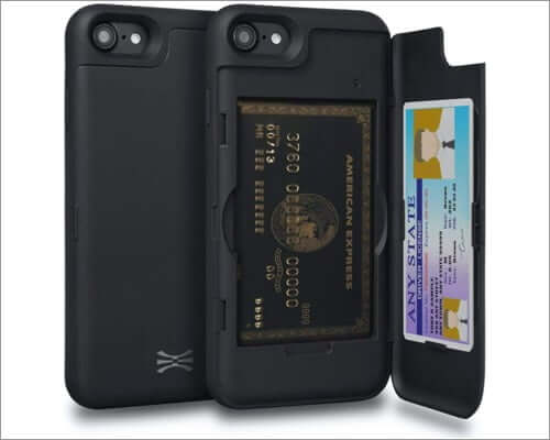 toru case with hidden card holder case