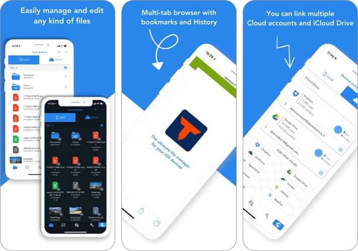 total files iphone and ipad file manager app screenshot