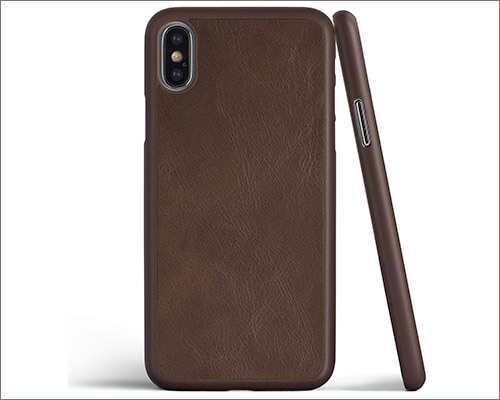 totallee Leather Case for iPhone Xs