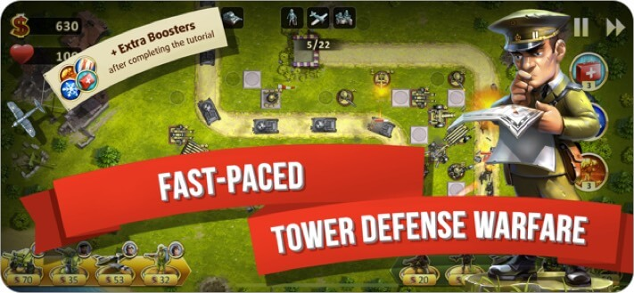 toy defence 2 iphone and ipad game screenshot