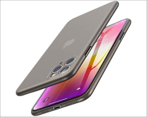 tozo ultra thin hard cover for iphone 11 pro