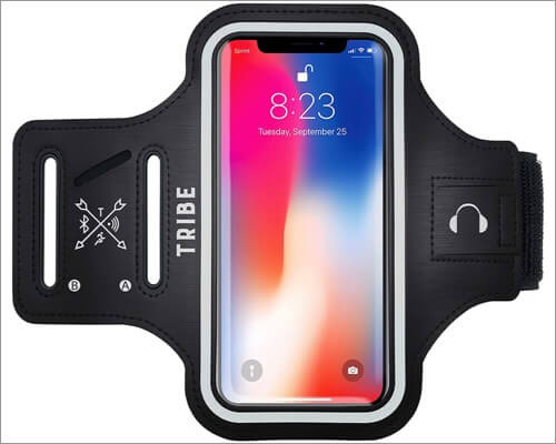 tribe water resistant armband for iphone xr