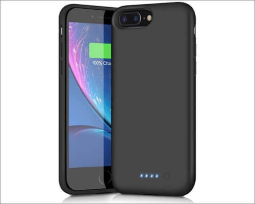 Trswyop Battery Case for iPhone 8 Plus