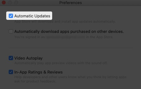 Turn On Automatic Updates for Apps in macOS