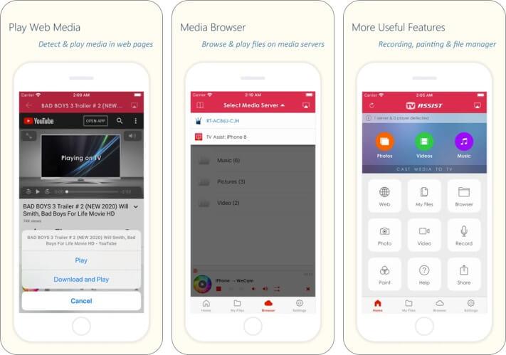 TV Assist Screen Mirroring iPhone and iPad App Screenshot